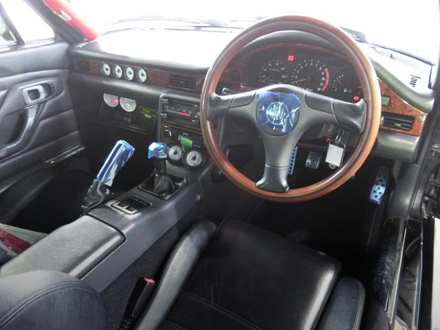 INTERIOR OF CAPPUCCINO DASHBOARD