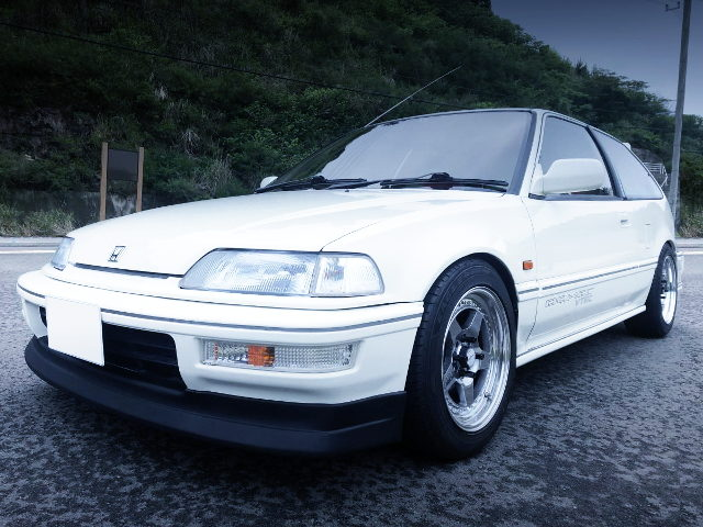 FRONT EXTERIOR EF9 CIVIC SIR