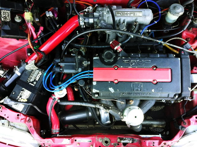 TURBOCHARGED B16A VTEC