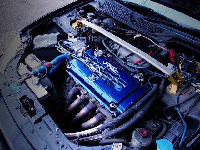 B16B VTEC ENGINE FOR EK9R ENGINE ROOM