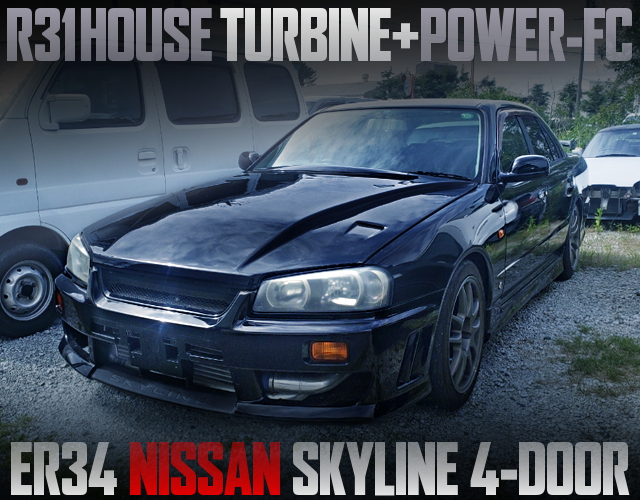 R31HOUSE TURBO AND POWER-FC WITH ER34 SKYLINE 4-DOOR
