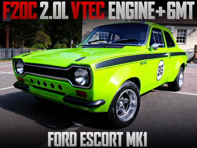 F20C VTEC ENGINE SWAPPED FORD ESCORT MK1