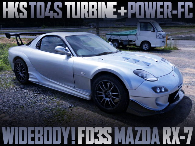 TO4S TURBINE AND WIDE BODY WITH FD3S MAZDA RX-7