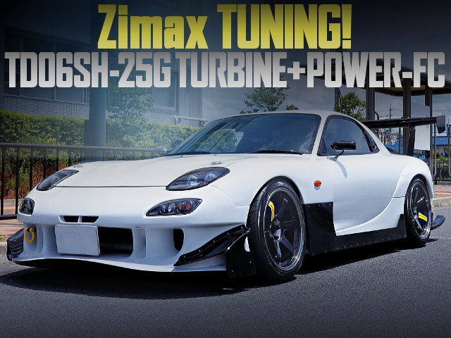 ZIMAX TUNING OF FD3S RX-7 TYPE-RS