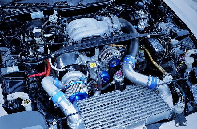 SINGLE TURBOCHARGED 13B-REW ROTARY ENGINE
