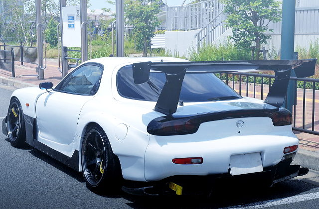REAR EXTERIOR FOR FD3S RX-7 AD-GT WIDEBODY