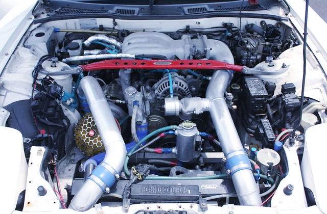 13B-REW ROTARY ENGINE With SINGLE TURBO
