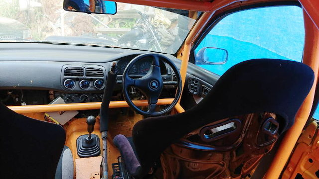 ROLL CAGE INTO GC8 WRX INTERIOR
