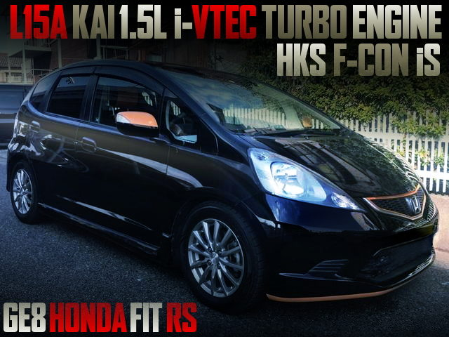 L15A i-VTEC TURBO ENGINE WITH GE8 FIT RS
