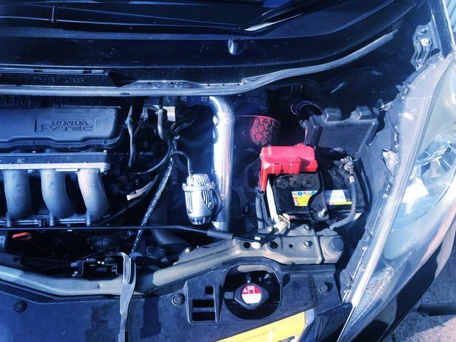 BLOW OFF VALVE ON L15A i-VTEC TURBO ENGINE
