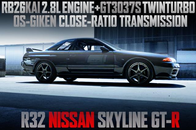 2800cc GT3037S TWINTURBO WITH R32 GTR