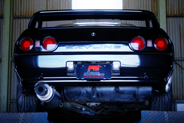 EXHAUST MUFFLER FOR R32 GT-E