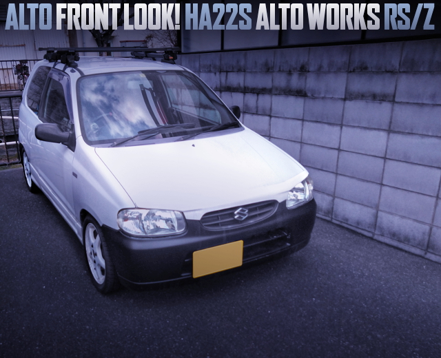 ALTO FRONT LOOK MODIFIED HA22S ALTO WORKS RSZ