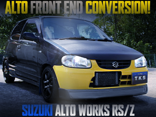 5th Gen ALTO FRONT END CONVERSION HA22S ALTO WORKS RSZ
