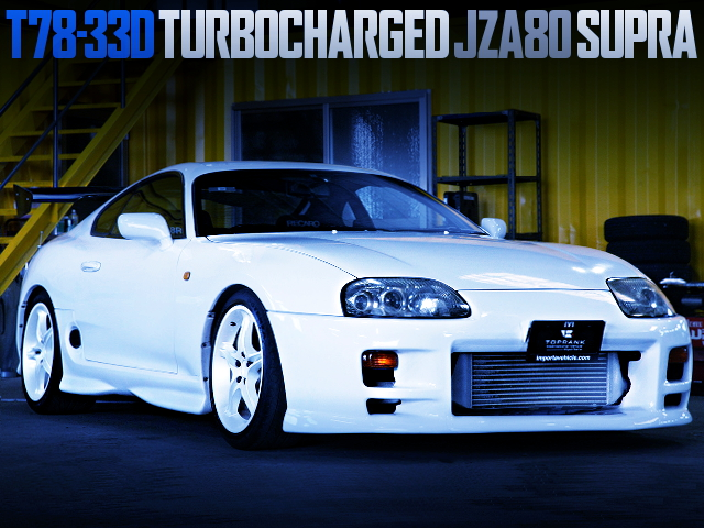 GREDDY T78-33D TURBOCHARGED JZA80 SUPRA RZ