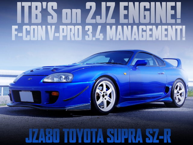 ITBs ON 2JZ ENGINE WITH JZA80 SUPRA