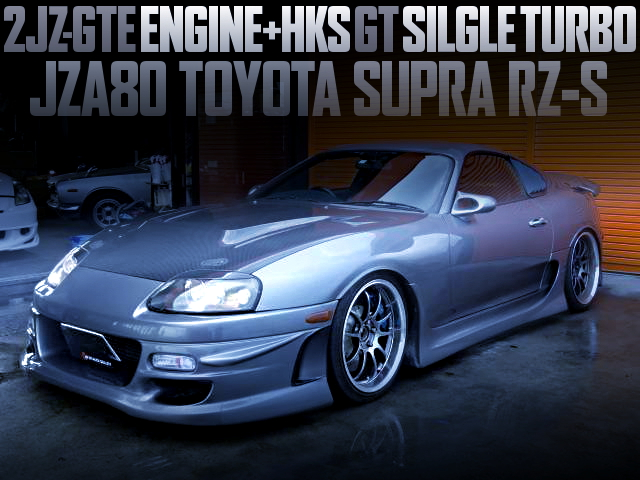 HKS GT TURBO ON 2JZ-GTE ENGINE WITH JZA80 SUPRA RZ-S
