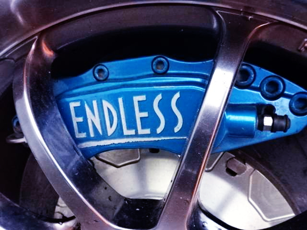 ENDLESS BRAKE CALIPER BLUE