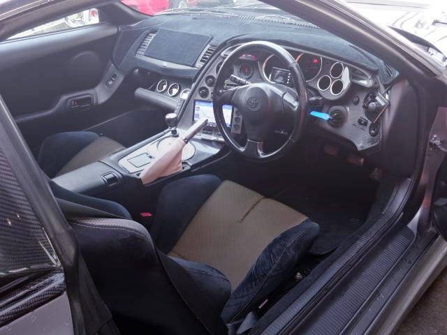 JZA80 SUPRA RIGHT HAND DRIVE INTERIOR