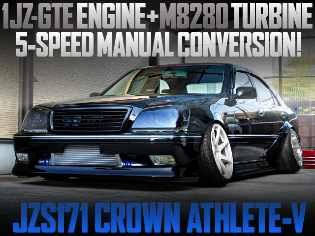 M8280 TURBO AND 5MT CONVERT WITH JZS171 COROWN ATHLETE V
