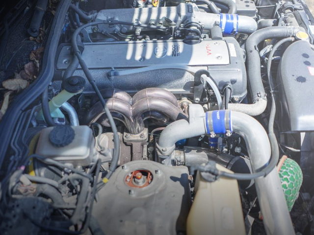 EXHAUST MANIFOLD ON 1JZ-GTE TURBO ENGINE