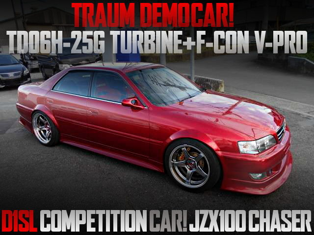 TRAUM DEMO CAR AND D1SL CAR FOR JZX100 CHASER