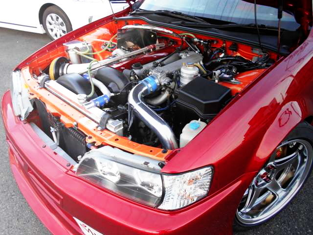 HOOD OPEN JZX100 CHASER