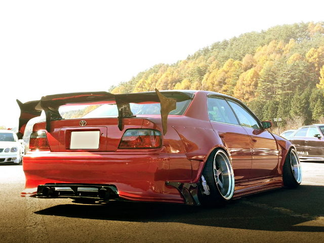 REAR EXTERIOR JZX100 CHASER