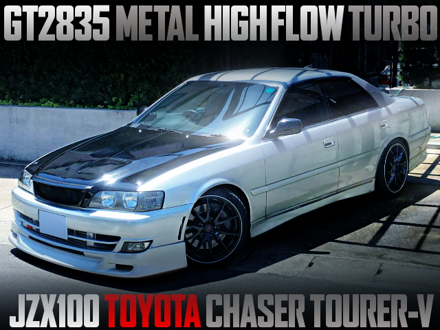 GT2835 TURBOCHARGED JZX100 CHASER TOURER-V