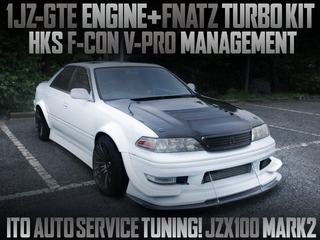 ITO AUTO SERVICE TUNING FOR JZX100 MARK2 TOURER-V