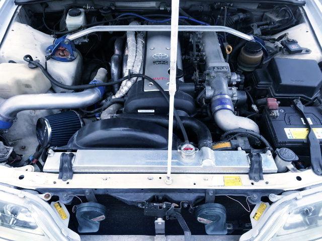VVT-i 1JZ-GTE TURBO ENGINE