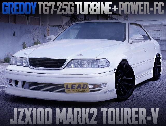 T67-25G TURBO ON 1JZ-GTE ENGINE WITH JZX100 MARK2 TOURER-V