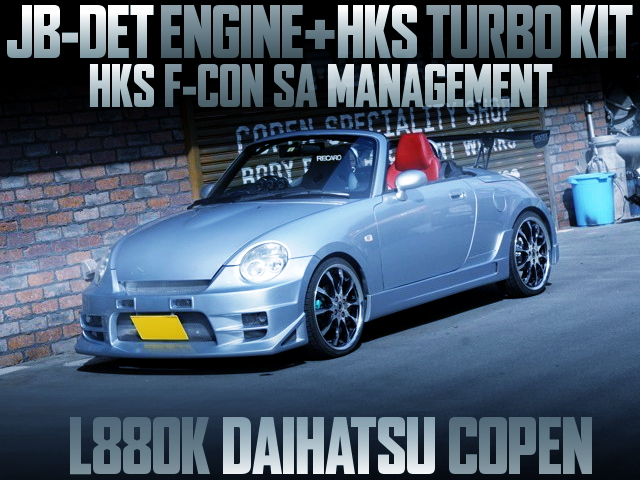HKS TURBO KIT WITH L880K COPEN