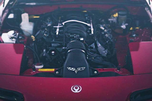 LS1 5700cc V8 ENGINE INTO 1st Gen MAZDA MIATA