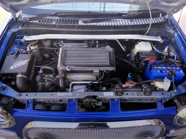 JB 660cc INLINE-FOUR TURBO ENGINE