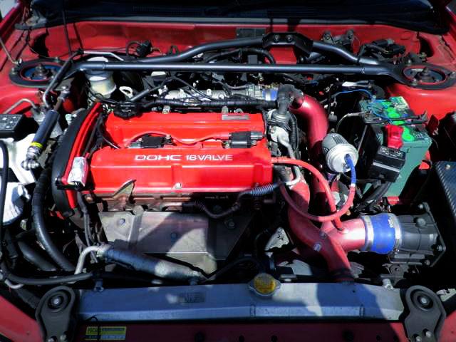 4G63 TURBO ENGINE FOR EVO6 TOMMI MAKINEN ED