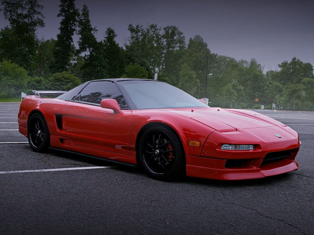 FRONT EXTERIOR VTEC TURBO NA1 NSX RED