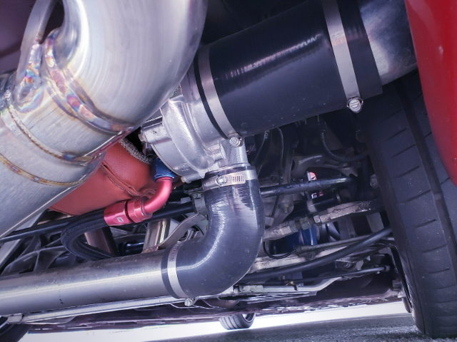 UNDER MOUNT TURBOCHARGER FOR NA1 NSX