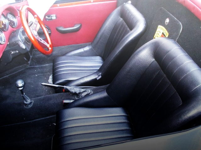 INTERIOR TWO-SEATER