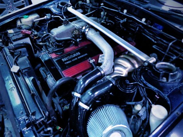 RB20DET-R TURBO ENGINE FOR R31 SKYLINE GTS-R