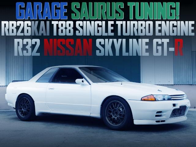 GARAGE SAURUS TUNING R32 SKYLINE GT-R