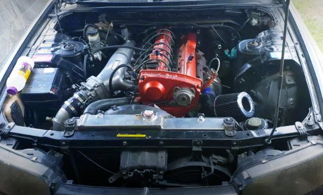 RB30DET TURBO ENGINE