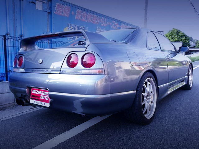 REAR EXTERIOR R33 SKYLINE 2-DOOR GTS25t TypeM