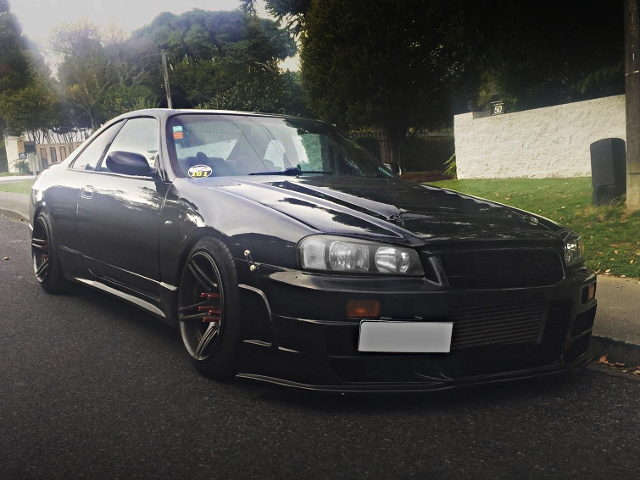 FRONT FACE R34 SKYLINE FRONT END TO R33 SKYLINE