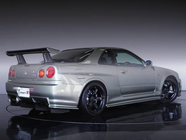 REAR EXTERIOR R34 GT-R V-SPEC2 NUR