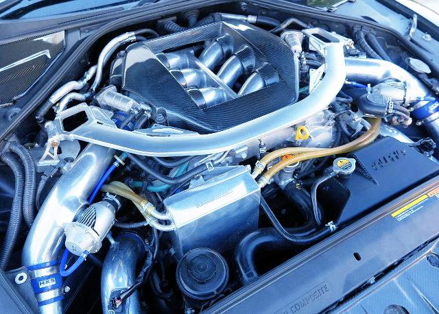 VR38DETT V6 TWINTURBO ENGINE