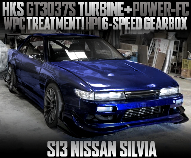 GT3037 TURBO AND HPI 6MT WITH S13 SILVIA