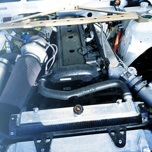 VVTi 1JZ TURBO ENGINE WITH GT3582R TURBO