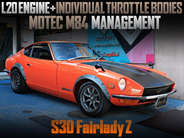 ITBs ON L20 ENGINE WITH S30 FAIRLADY Z