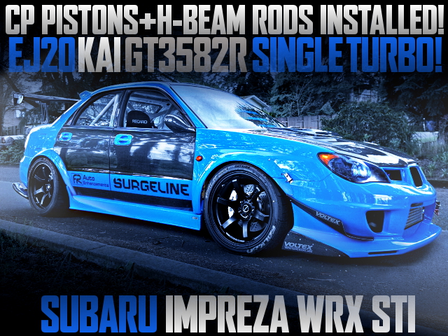 GT3582R TURBOCHARGED GD IMPREZA WRX STI WIDEBODY